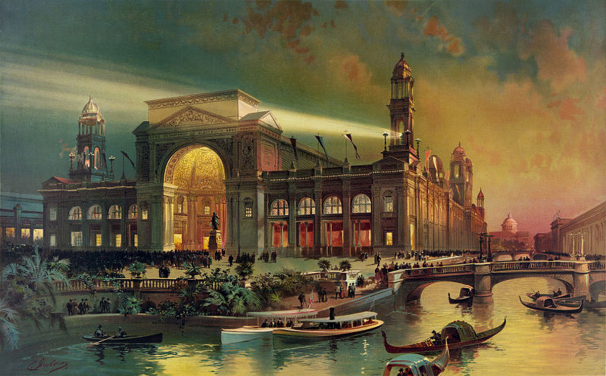The Electric Building at the World's Colombian Exposition 1893.