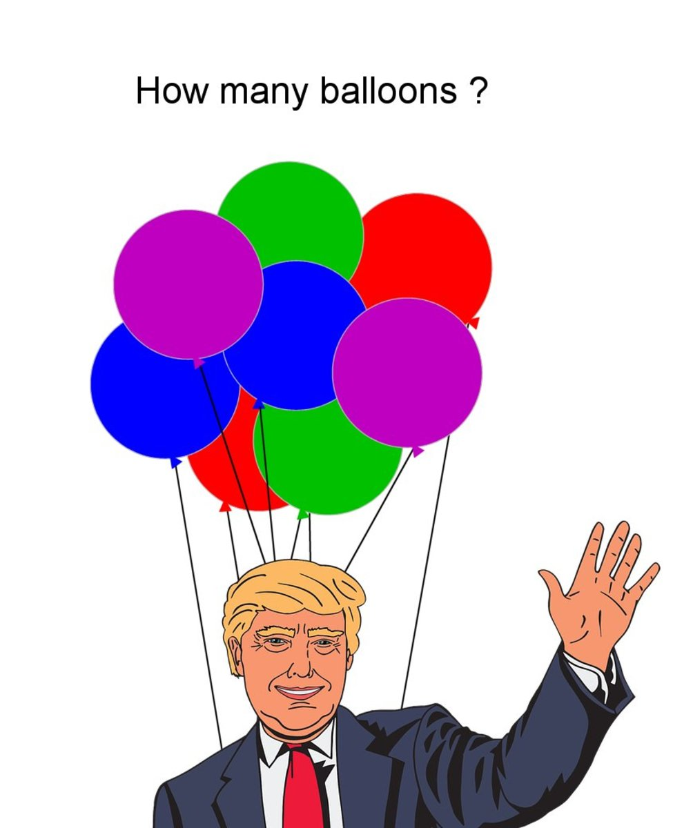 How many helium balloons does it take to lift a person?