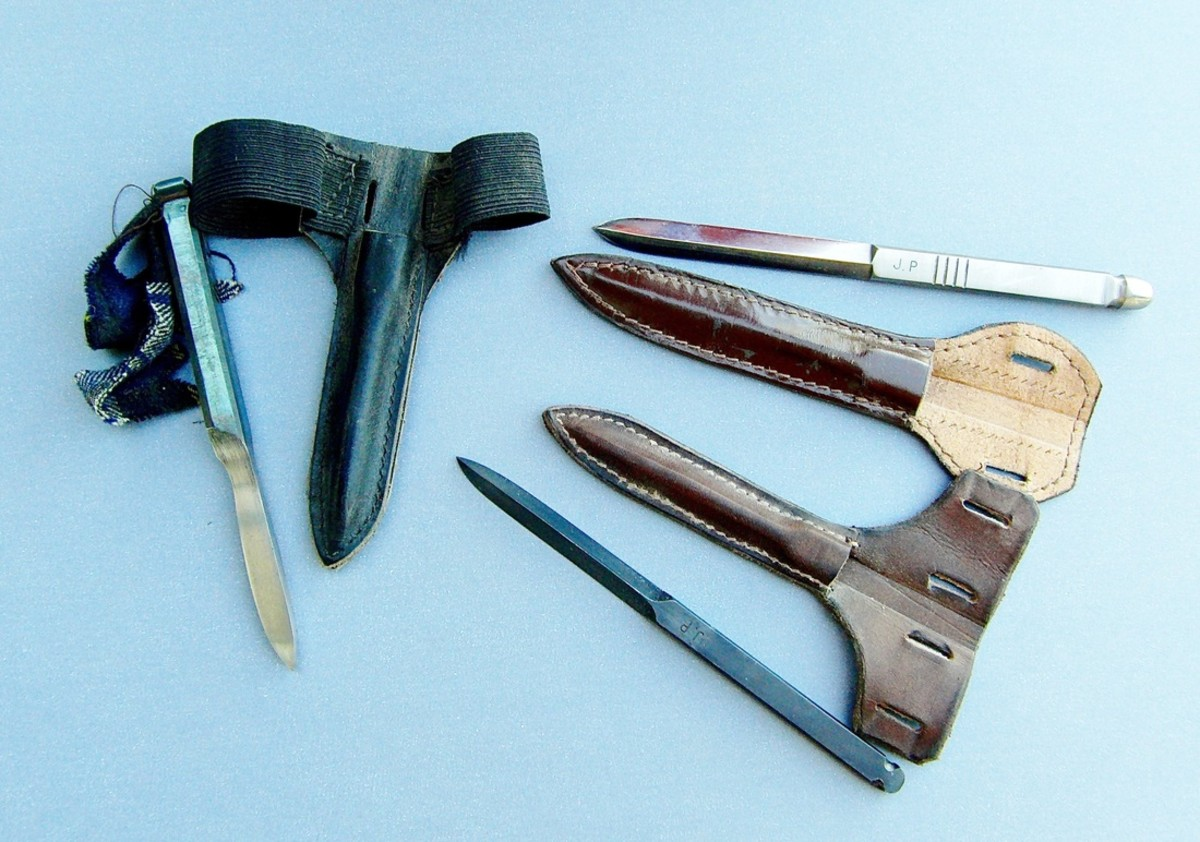 A selection of Sleeve Daggers.