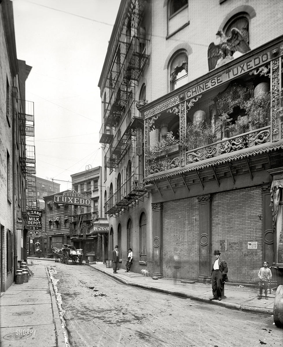 Doyers Street in 1901.