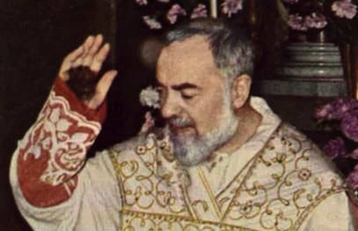 An older Padre Pio. Even his claim of stigmata was questioned.