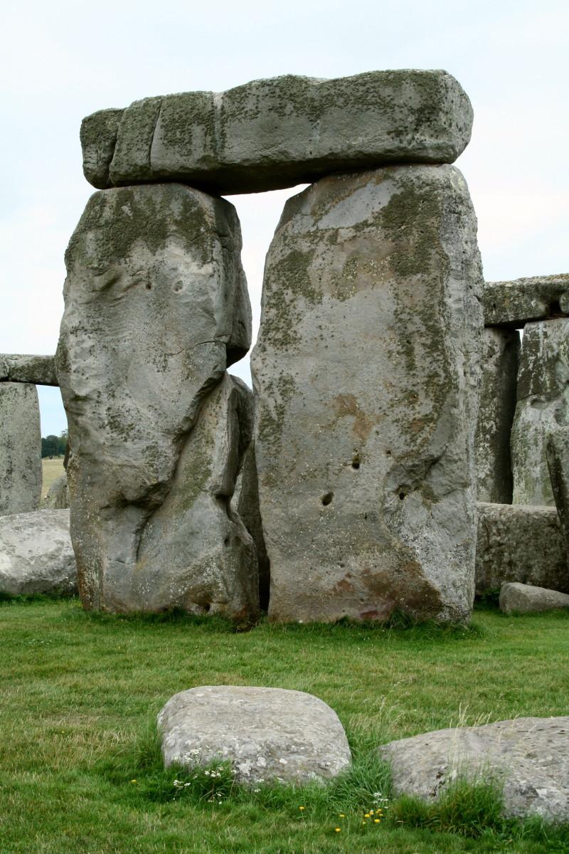 Trilith in Stonehenge