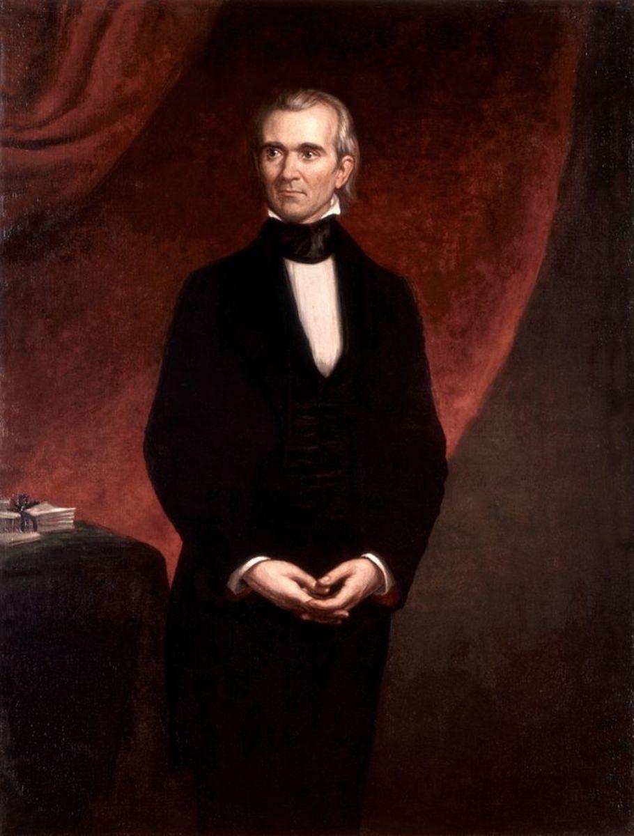 President James K. Polk.