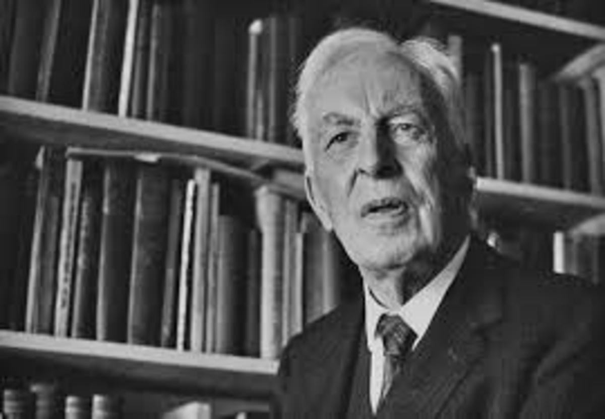Historian and Philosopher Arnold Toynbee