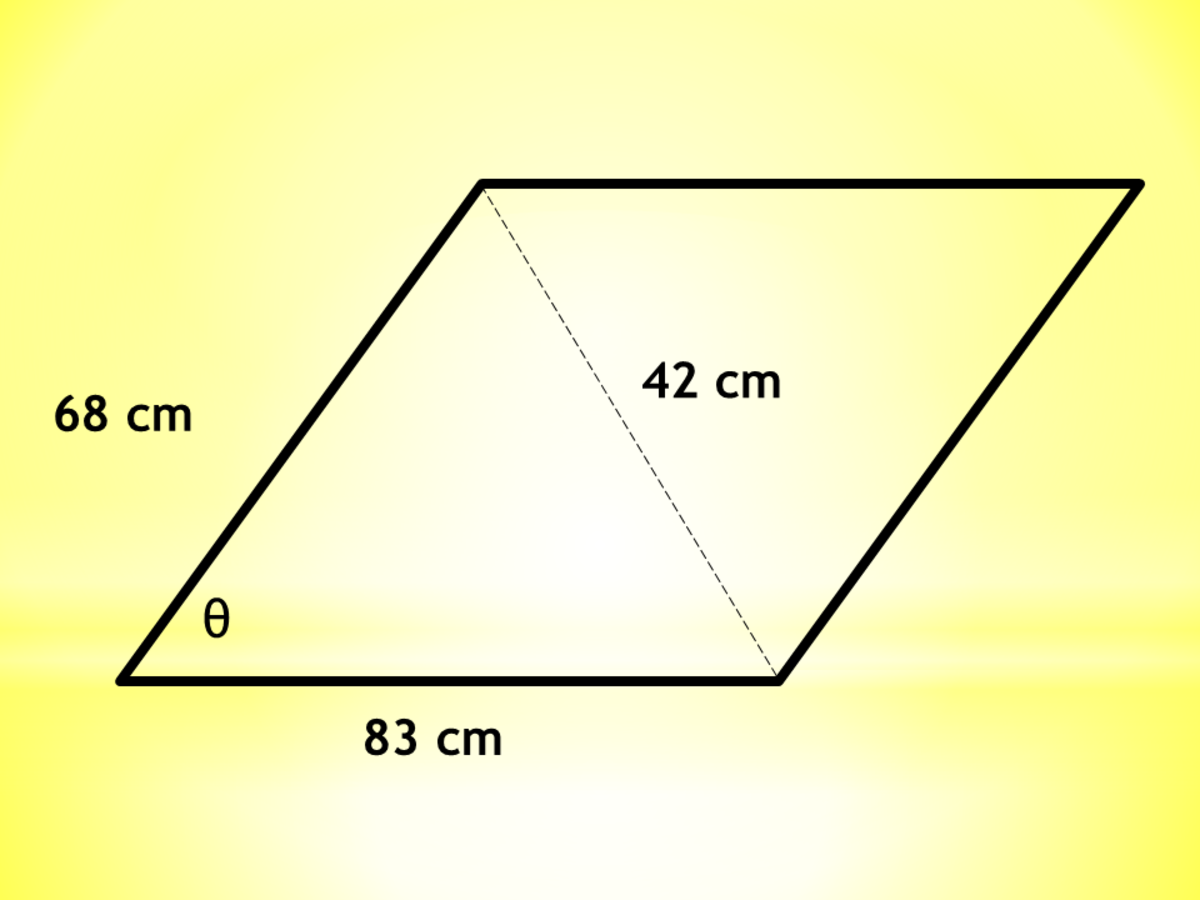 Calculator Techniques for Quadrilaterals: Interior Angles of Parallelogram