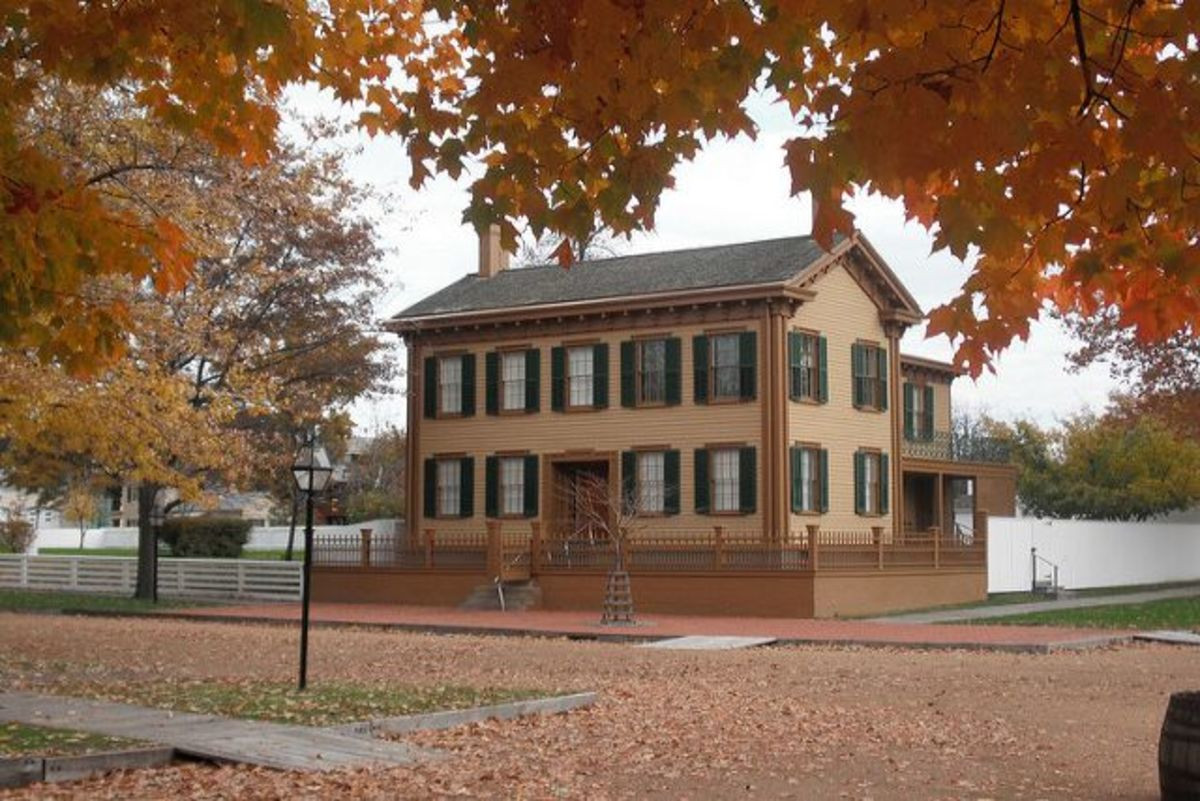 Lincoln Home National Historic Site: Abraham Lincoln only owned one home and he lived there with his wife, Mary, for seventeen years. Photo Courtesy: Flickr/Matt Turner.