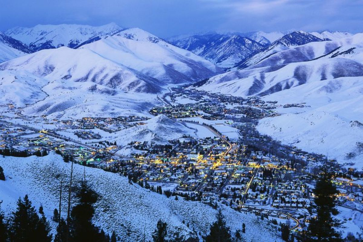 Sun Valley: Sun Valley's year-round outdoor recreation and awesome mountain scenery draw visitors from around the world.Getty Images.