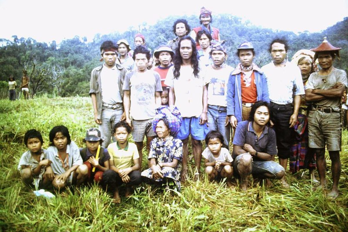 The Tasaday people in 2012 looking very not Stone Age.