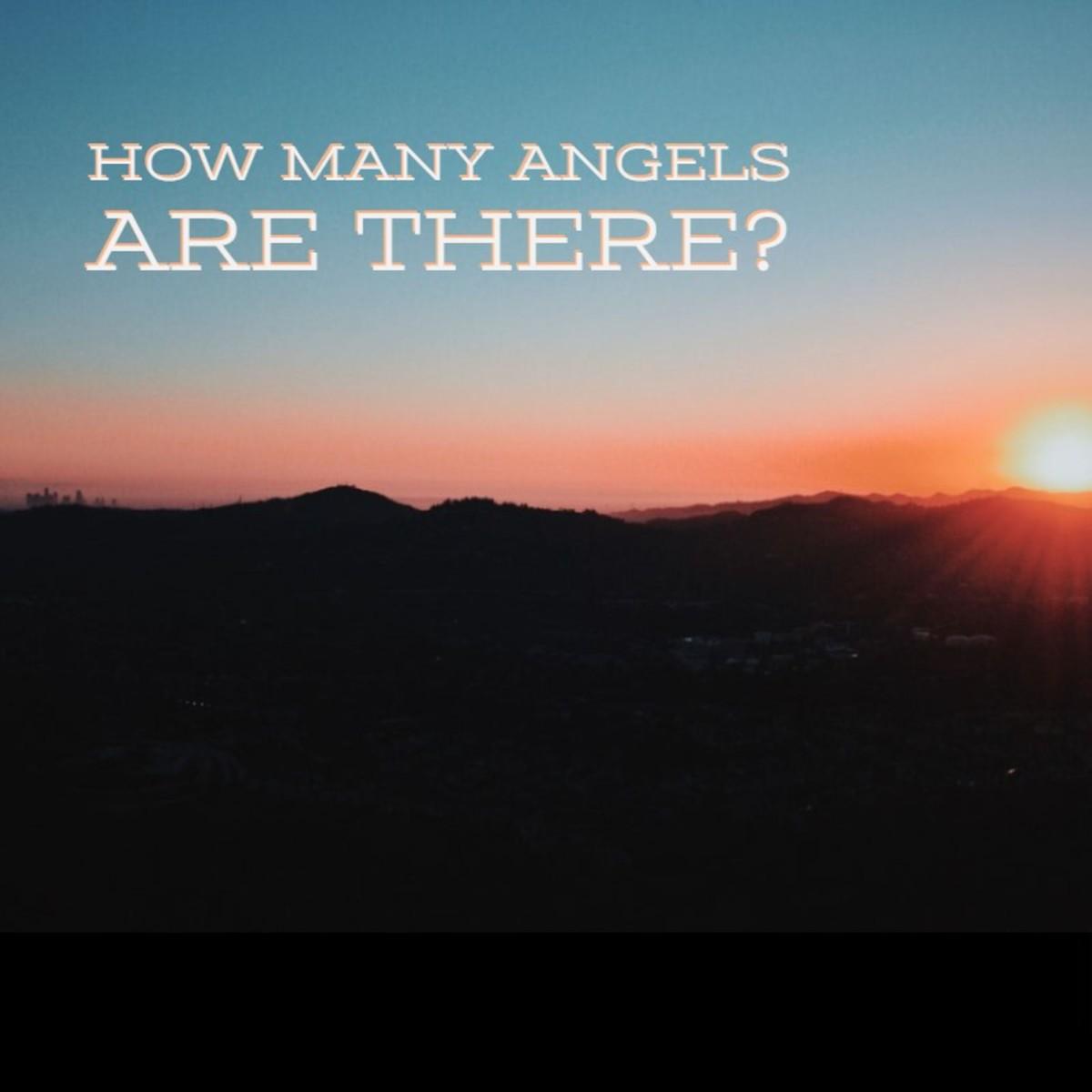 How many Angels did God create?