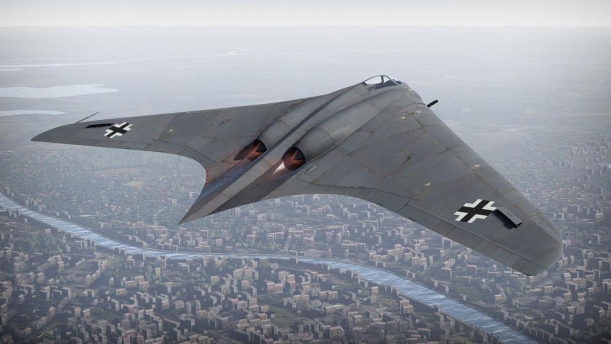 The Horten Ho 229 Bomber; largely regarded as the world's first stealth fighter.