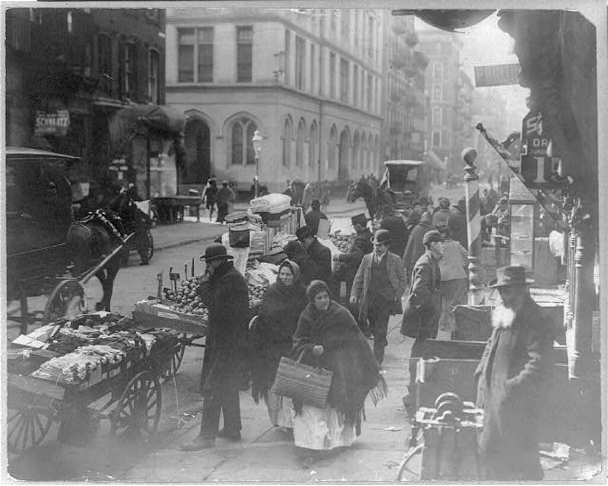 Rivington Street.