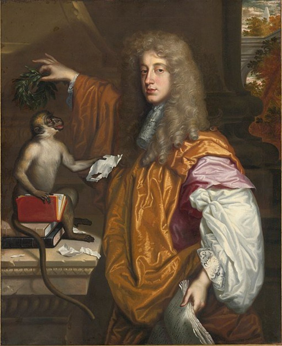 Portrait of John Wilmot, 2nd Earl of Rochester by Jacob Huysmans