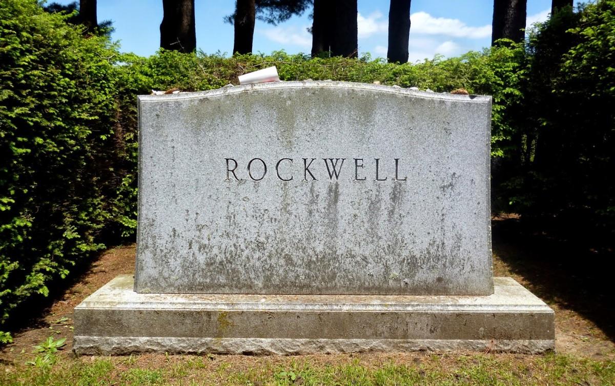 Norman Rockwell gravesite
