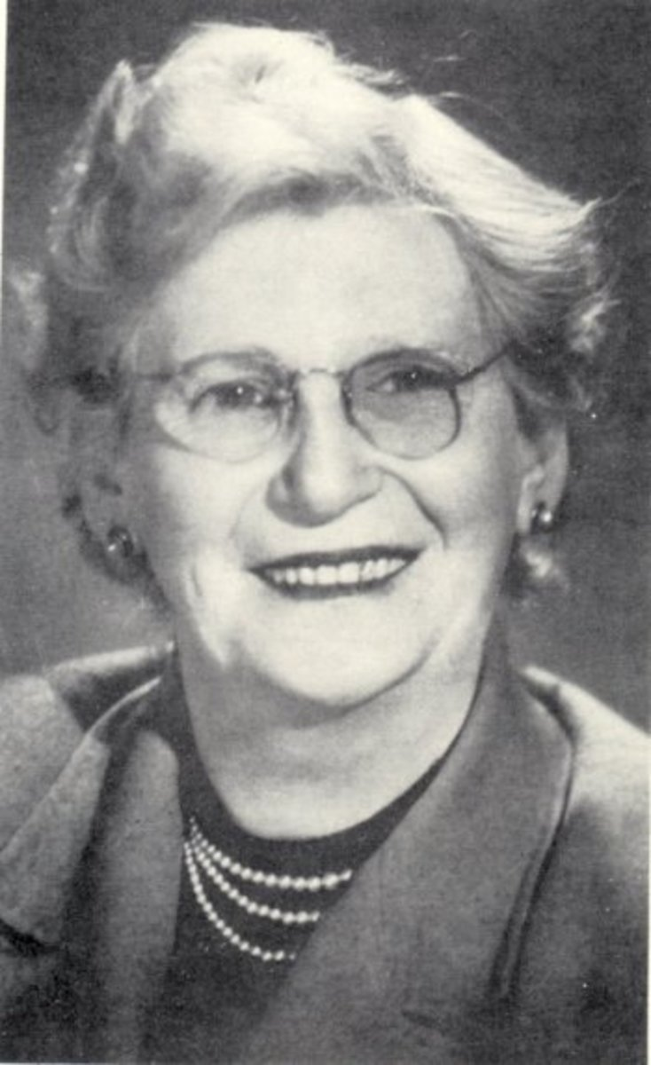"Margaret ""Ma"" Murray."