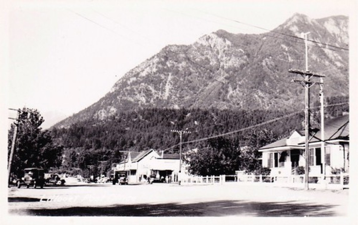 Lillooet in the 1940s.