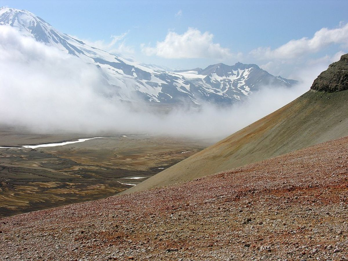 The Valley of Ten Thousand Smokes was created by the Novarupta volcanic explosion. Today, the place is a popular tourist destination, located within the Katmai NP in Alaska.