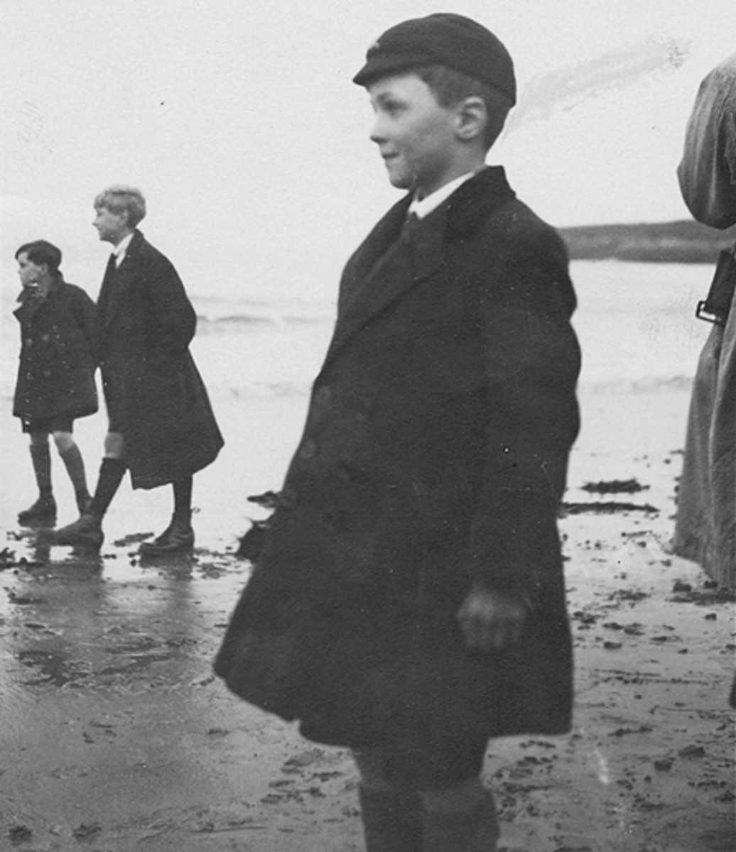 Roald Dahl at boarding school