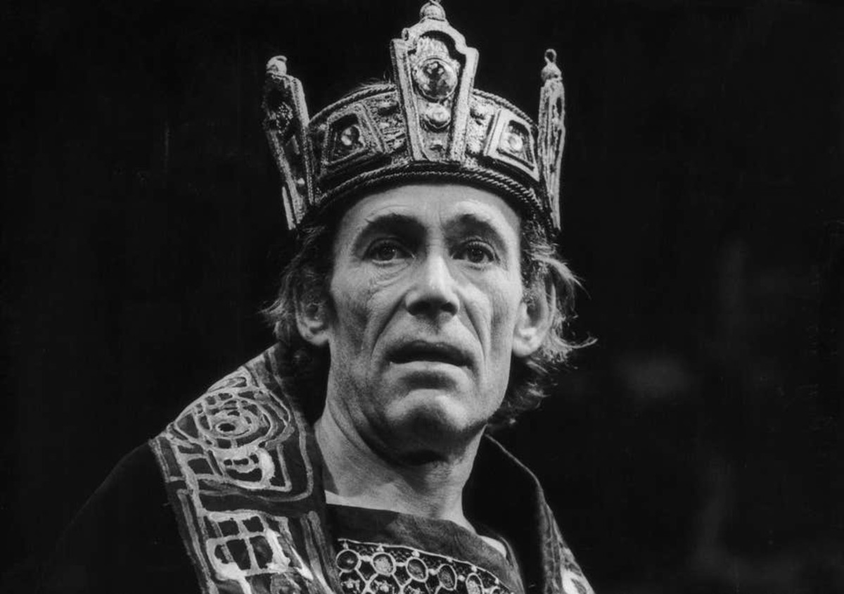 Macbeth was probably more sober than Peter O' Toole