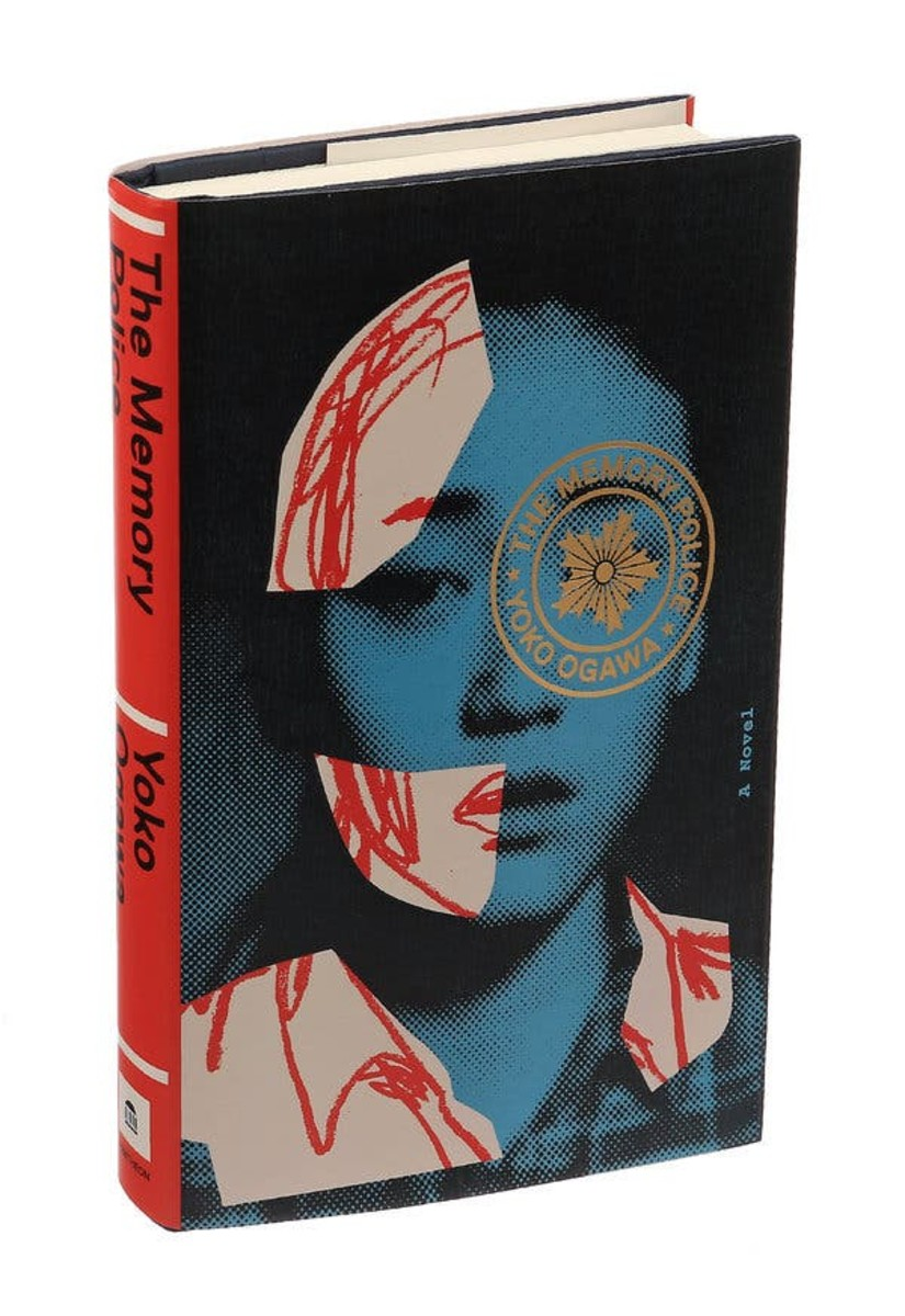 Cover of the English translation of The Memory Police, art by Taxi/Getty Images.