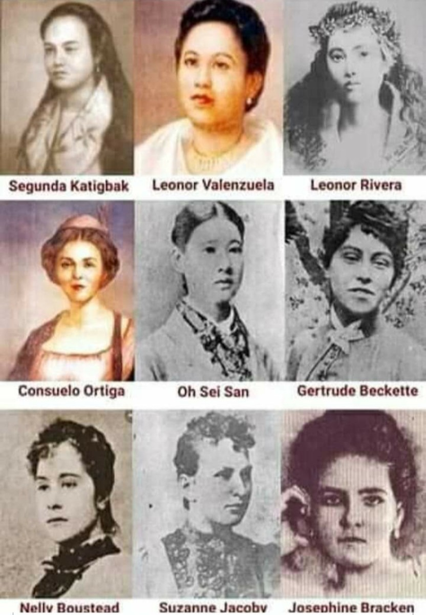 9 women who were linked with Rizal