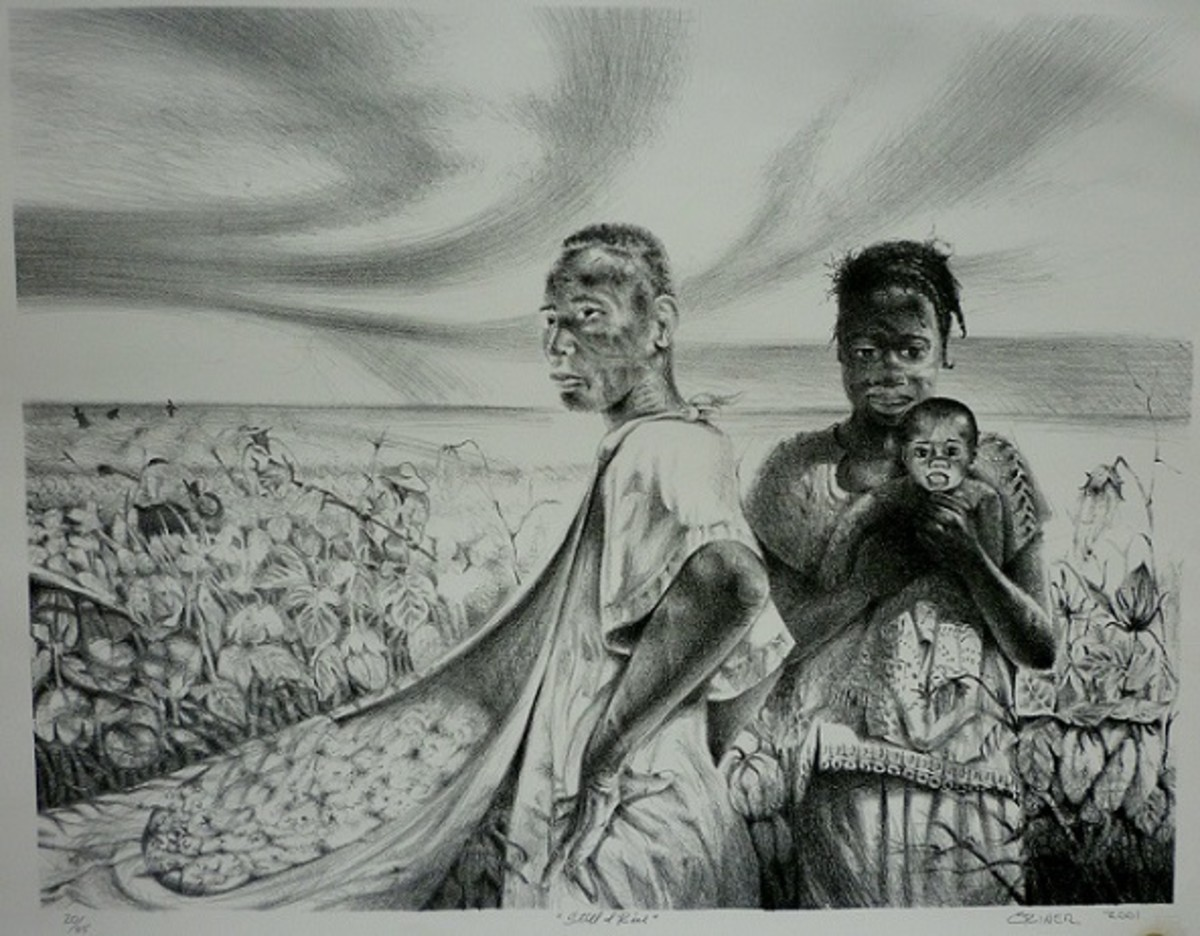 """Still I Rise,"" by Charles Criner, 2001"