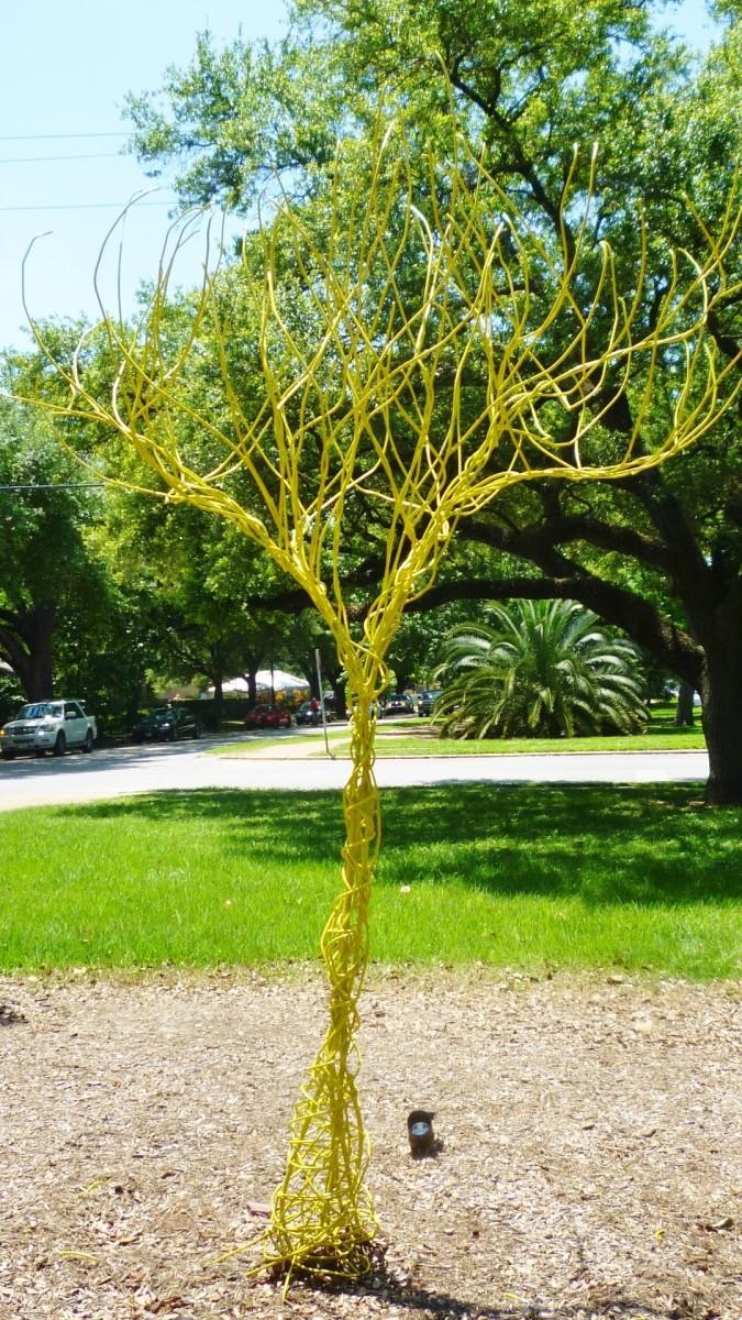 """Yellow Tree"" by Kelley Devine"