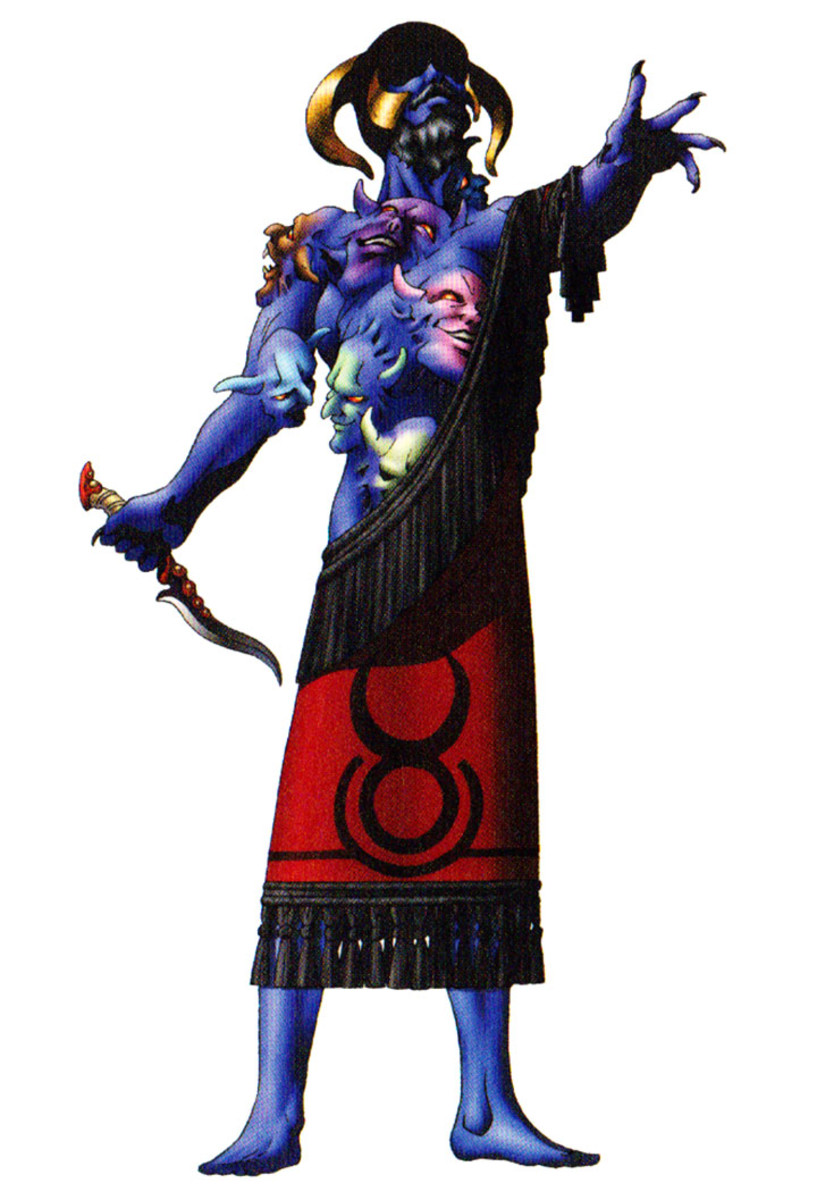 Nergal, as depicted in the Shin Megami Tensei video games.