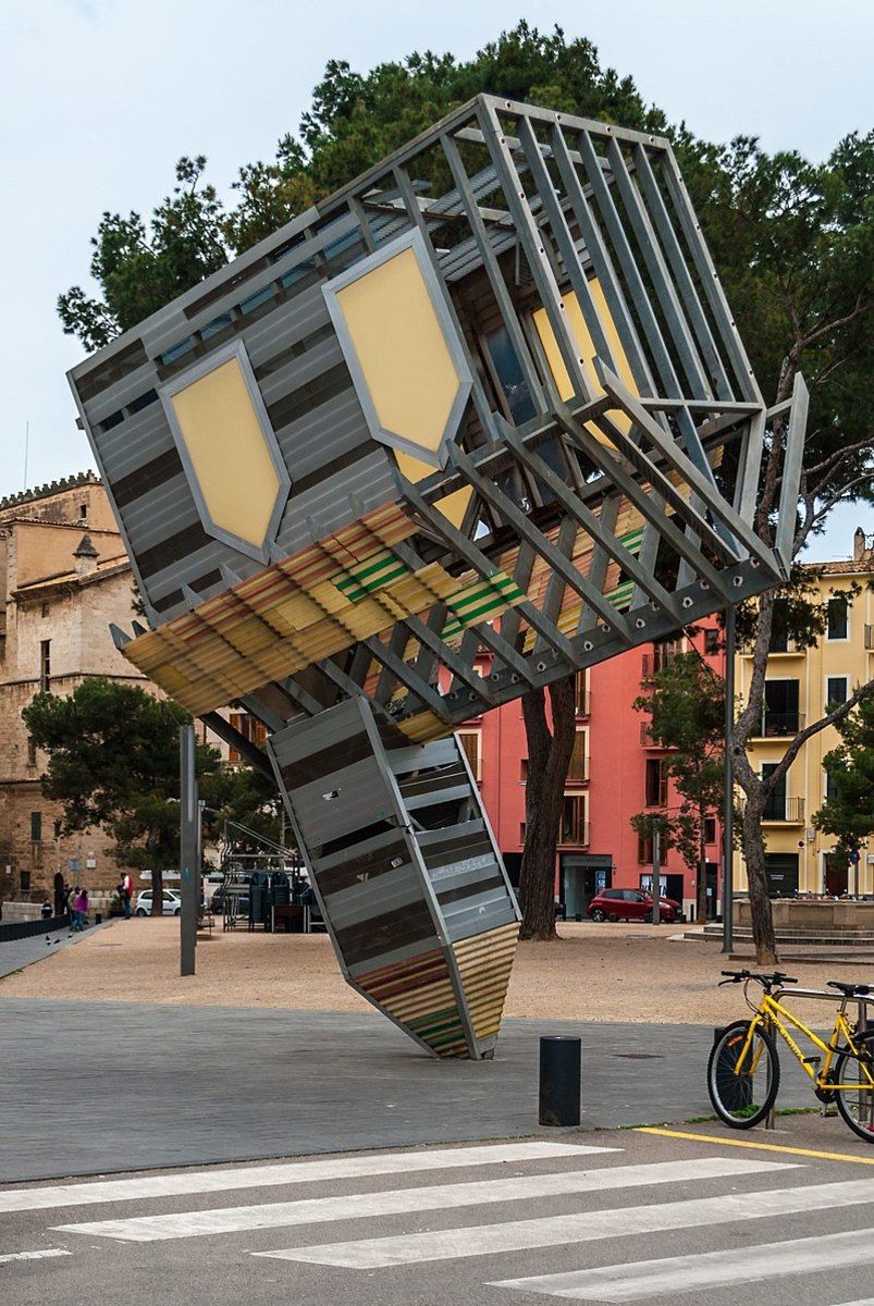"""""""Device to Root Out Evil"""" by Dennis Oppenheim"""