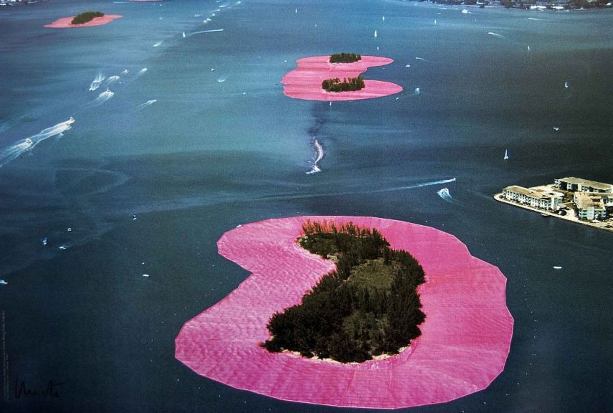 """Surrounded Islands"" by Christo and Jean-Claude"