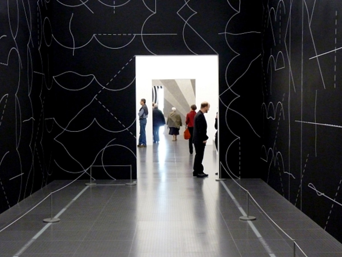"""Wall Drawings"" by Sol LeWitt"