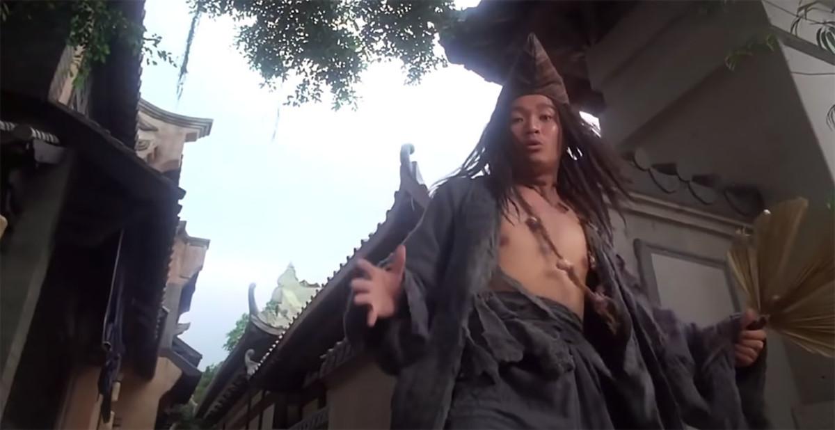 Depiction of Ji Gong by Hong Kong actor, Stephen Chow.