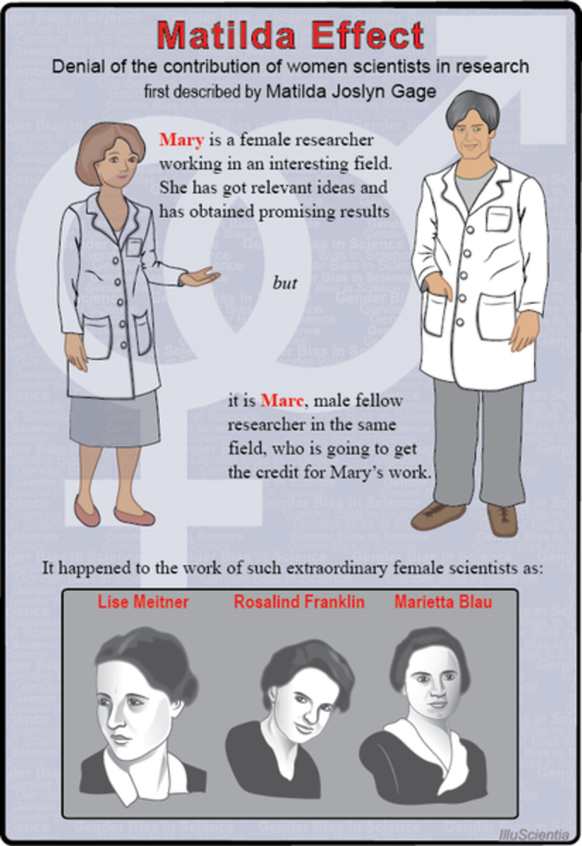 women-in-science-and-the-matilda-effect