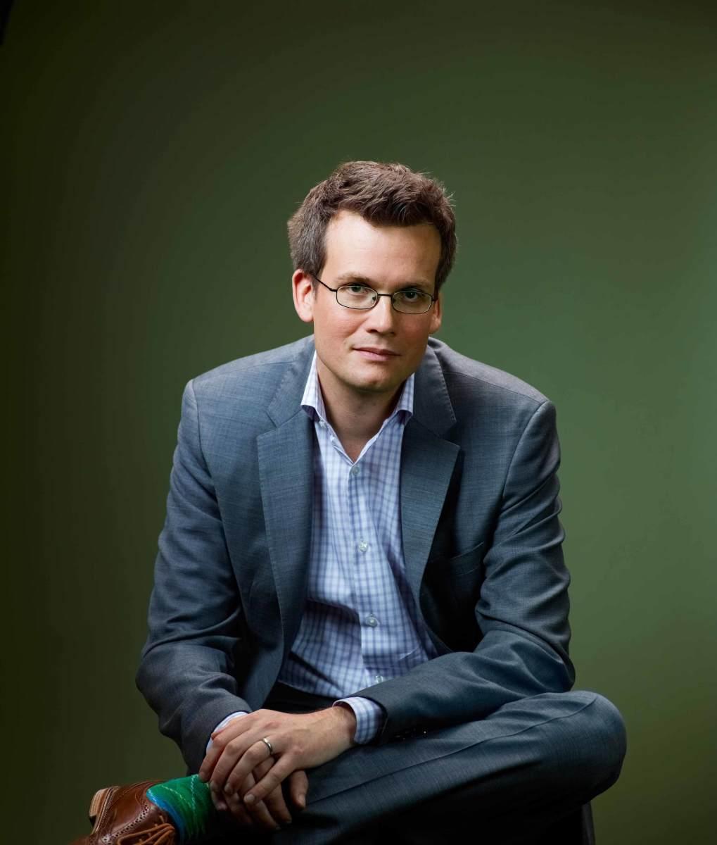 John Green, the book's author