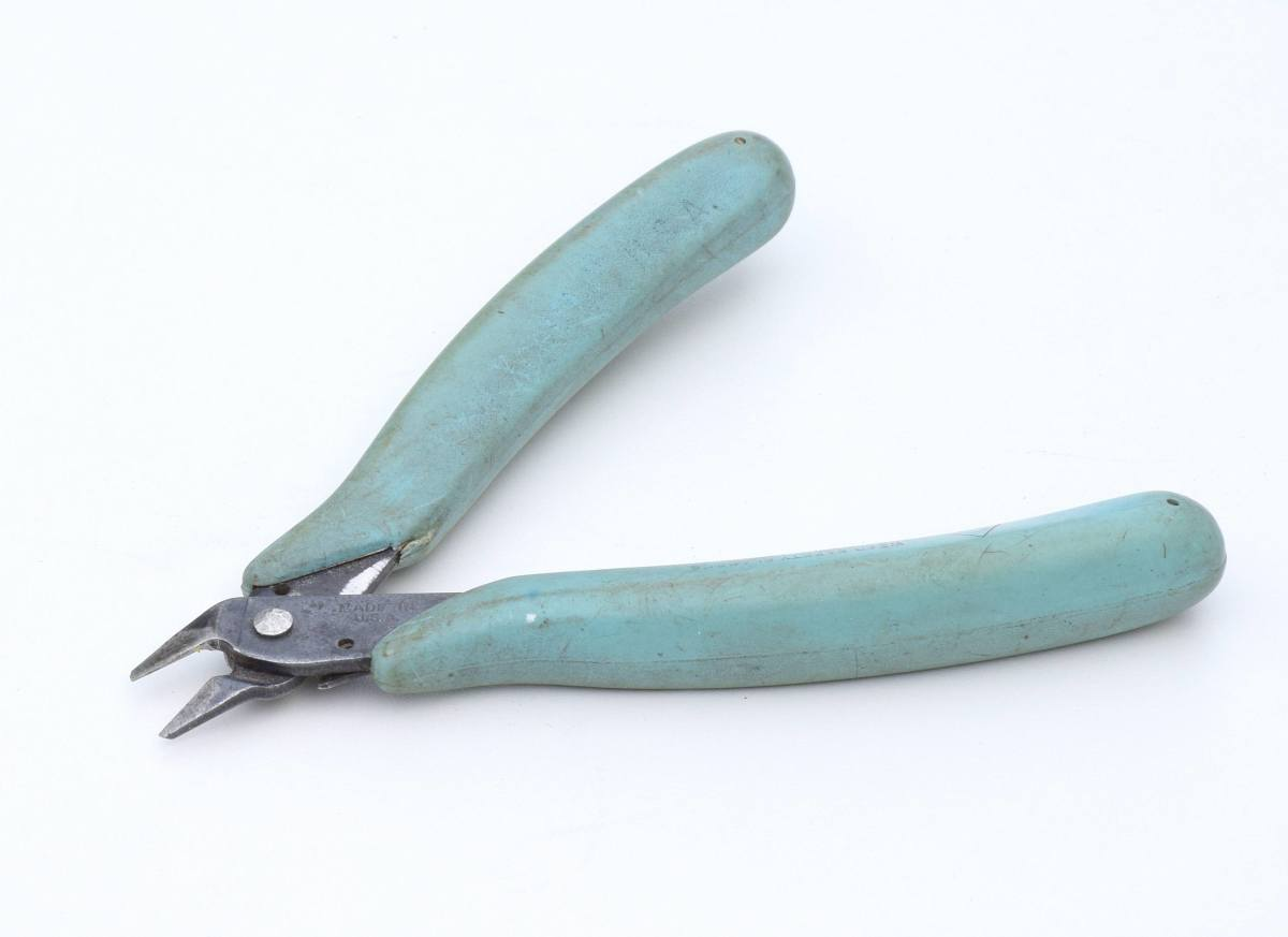 """Side cutters or wire """"snips"""" for cutting wire."""