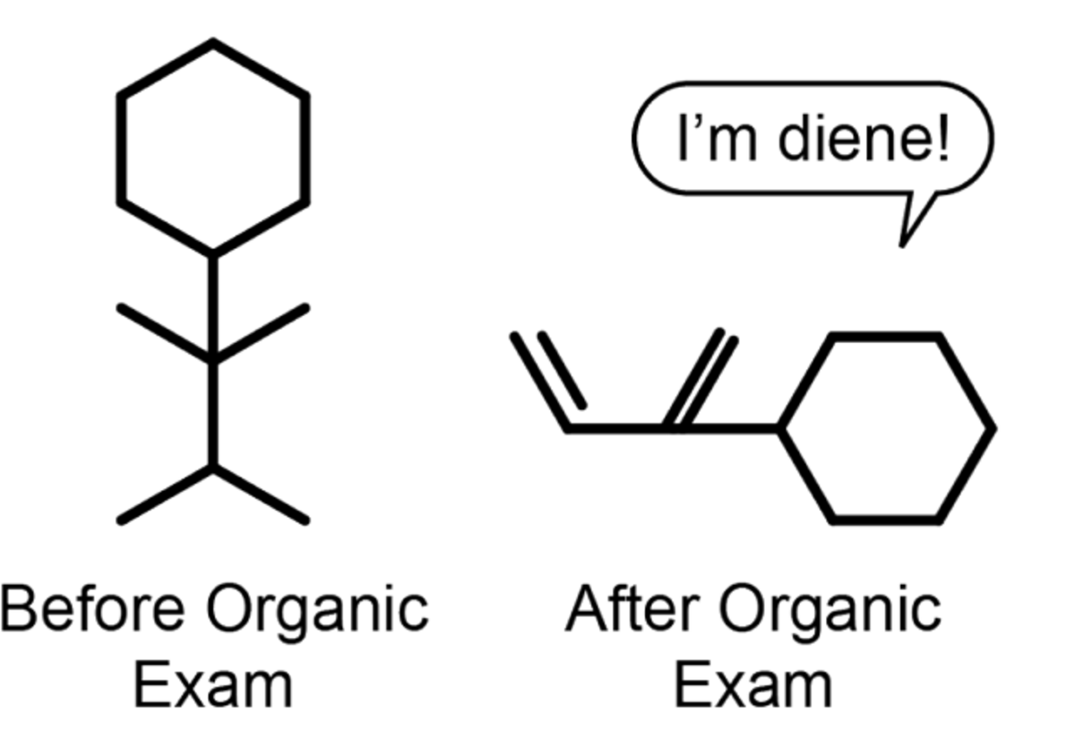 Chemistry can be pretty tricky