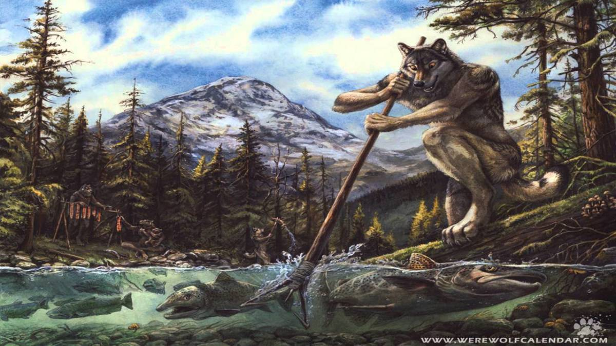 The Wulver uploaded by Cryptidman2019 to CryptidzWikia