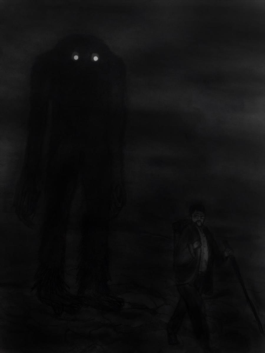 Am Fear Liath Mor: The Grey Man - By Killingsquash45 on DeviantArt