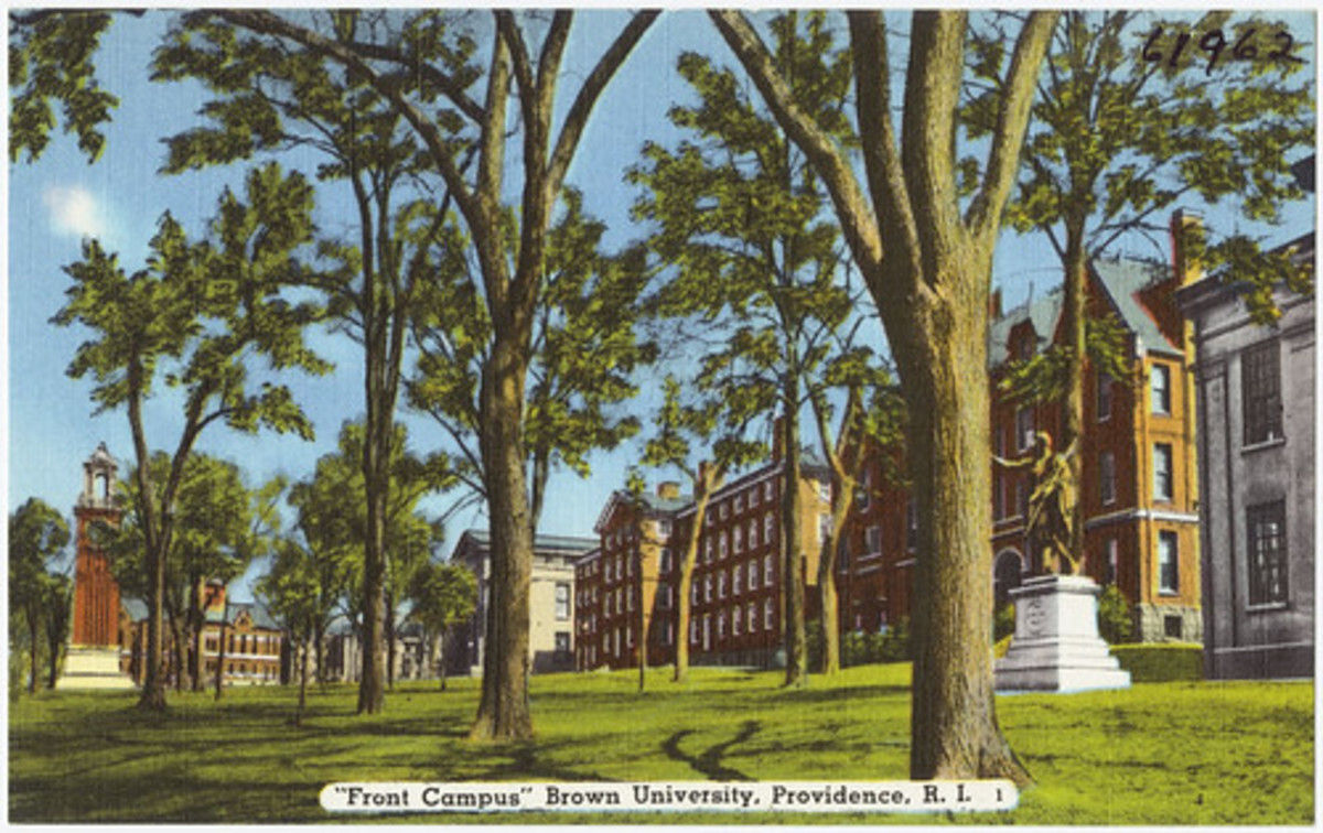 "The great man's campus, where he is called Brown University's ""best known and least seen"" professor."
