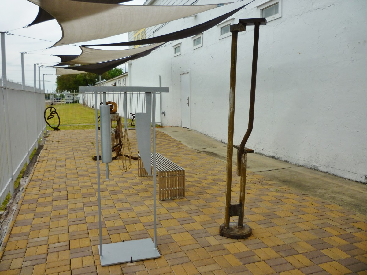 View of Union Pacific Sculpture Garden