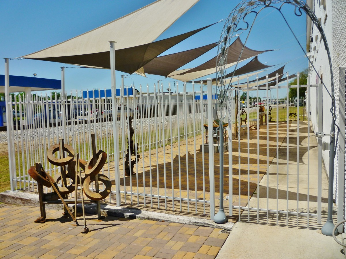 KCAM Union Pacific Sculpture Garden