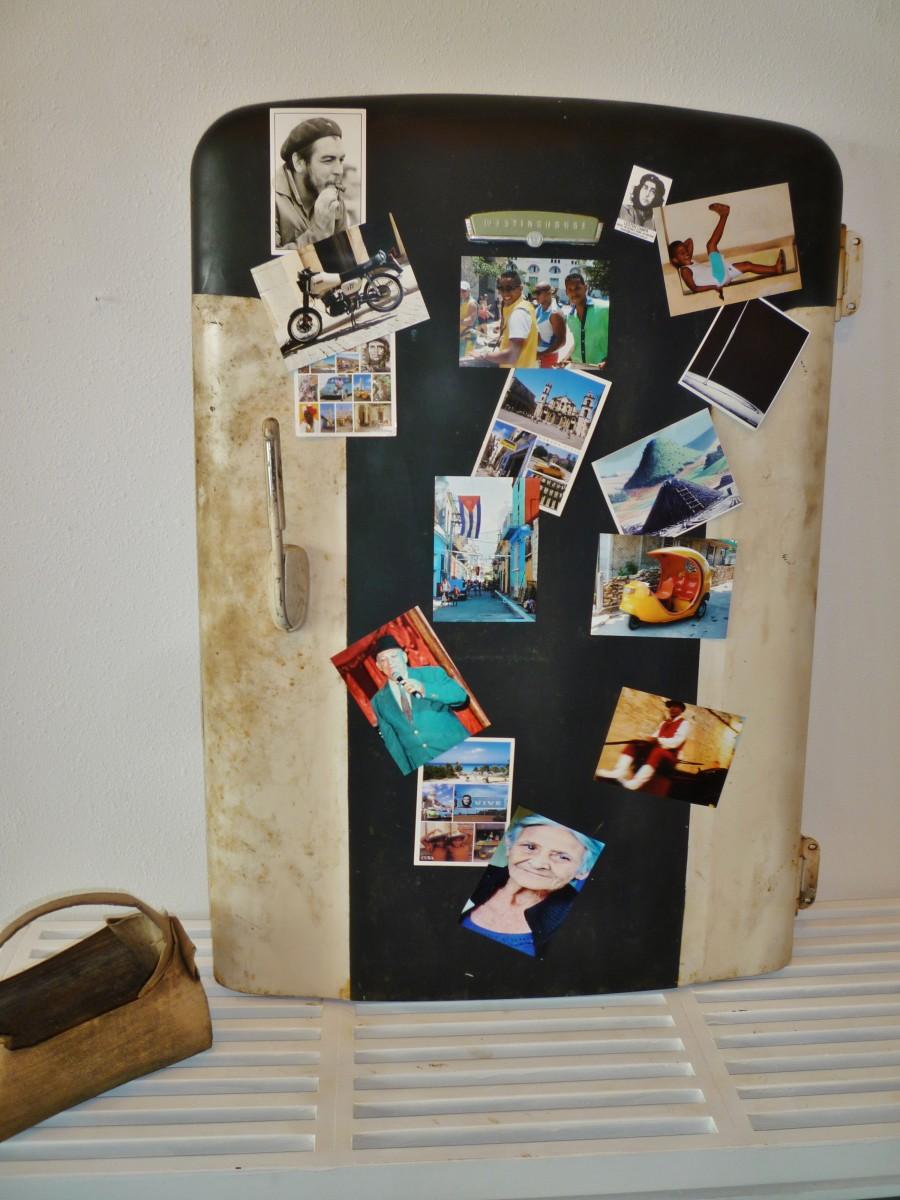 An art exhibit titled Cuba Behind Open Doors
