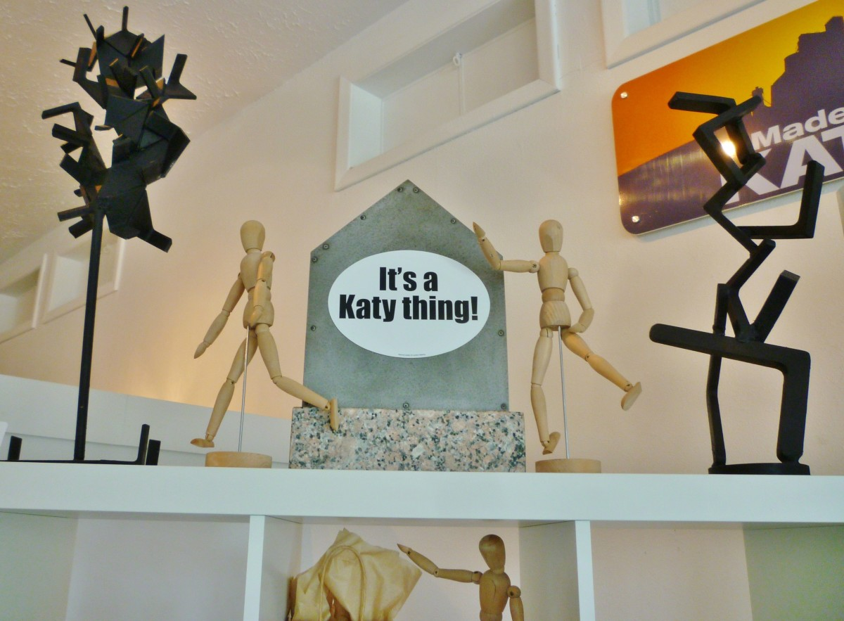Katy Contemporary Art Museum gift shop items