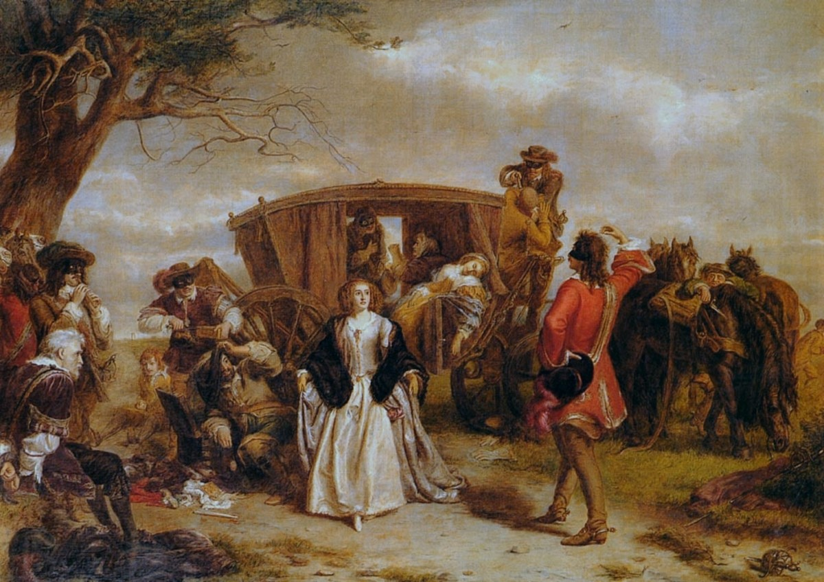 The highwayman gets a public relations make-over in this 1860 painting by William Powell Frith.