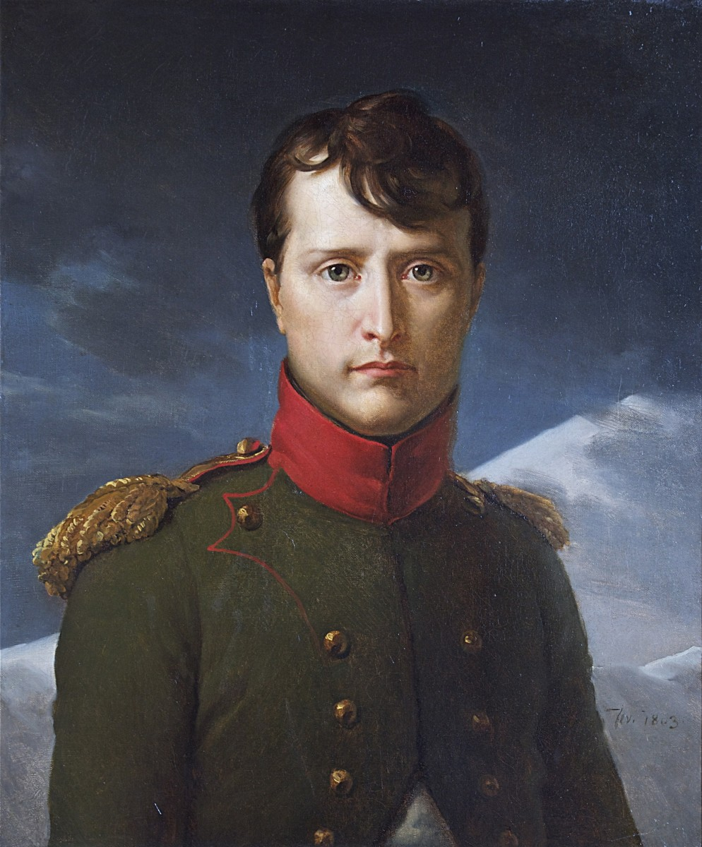 Napoleon Bonaparte as First Consul. His 1799 coup of the Directory paved the way for Franco-American reconciliation.