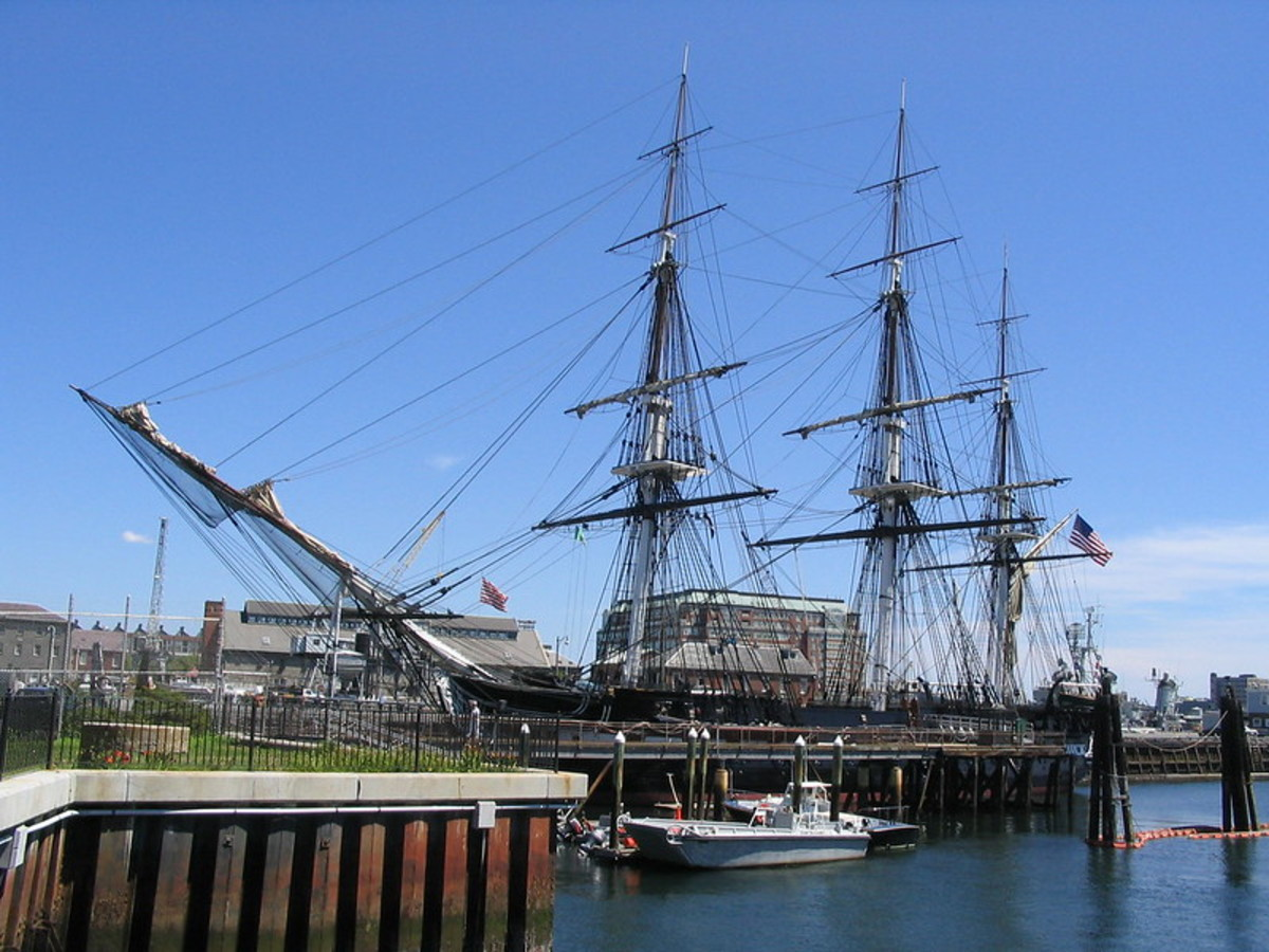 USS Constitution, flagship of Silas Talbot during the Quasi-War.
