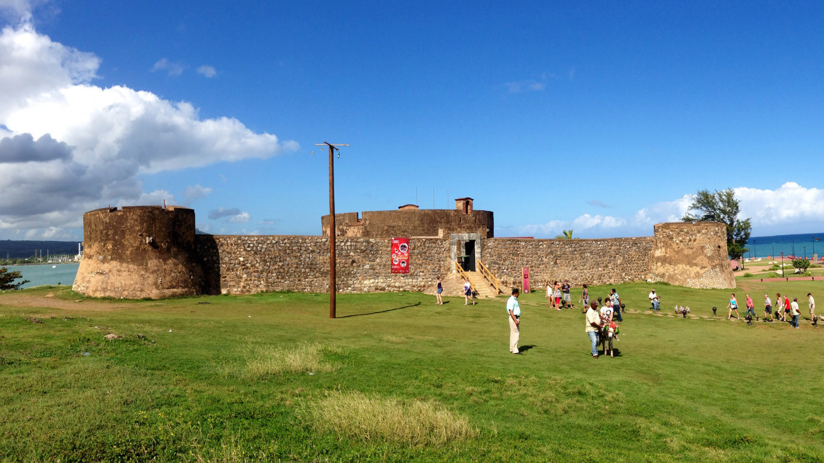 Fortazela San Felipe, the Spanish fort guarding Puerto Plata which was captured by US Marines and sailors during the Quasi War.