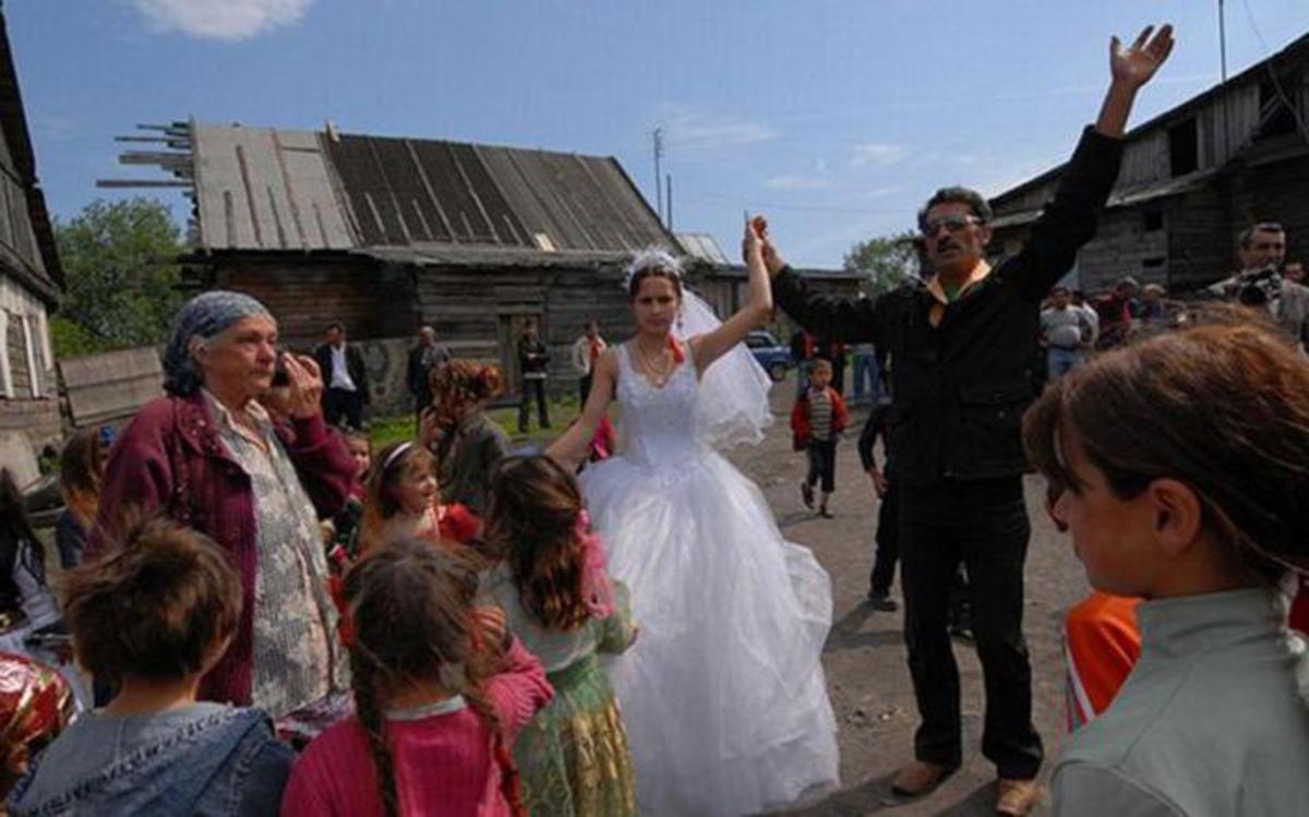 Gypsy wedding in Portugal