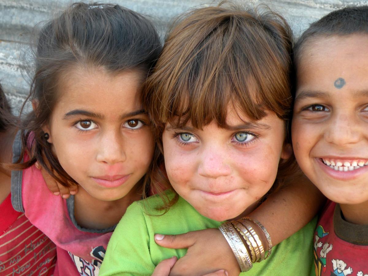 Domari Children in Lebanon