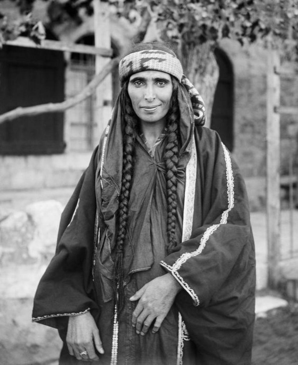 Domari woman in Israel