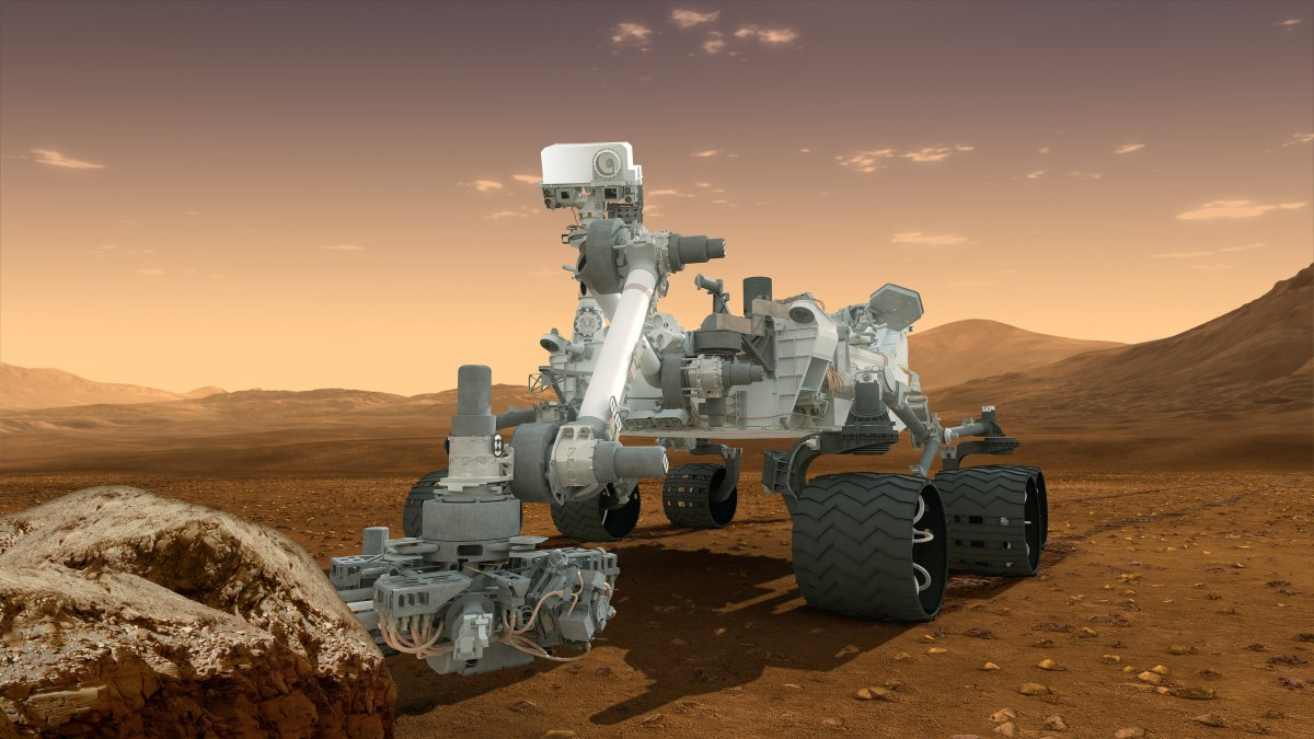 Curiosity: For the time being only rovers are wandering on Mars